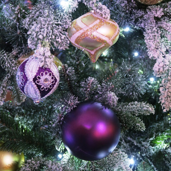 Christmas Decorations In Purple: Free Stock Photos - Rgbstock - Free Stock Images