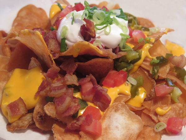 Nacho and cheese snack: Party food