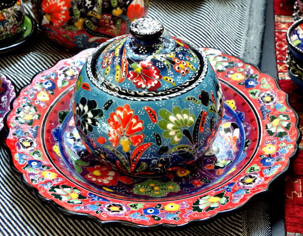 Turkish glazed ceramics1 : turkish tableware - pezcame.com
