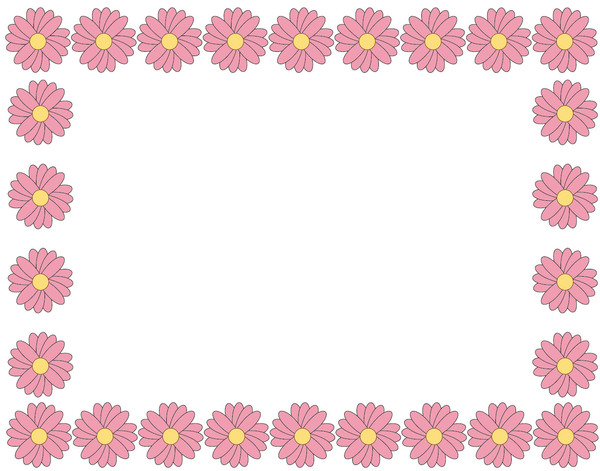 Free stock photos rgbstock free stock images flower border flower border pink mightylinksfo Images
