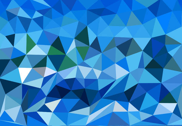 Blue polygons: Blue polygons