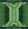 green mesh 'Y' support
