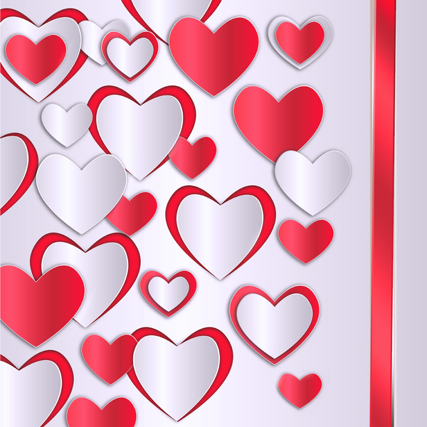 hearts: background