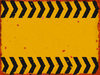 Grungy Warning Sign