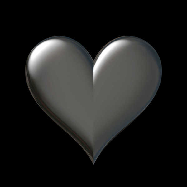 Dark Heart 5: A 3D heart  with a dark background. You may like: http://www.rgbstock.com/photo/oPyWtV4/Stars+and+Hearts+3 or http://www.rgbstock.com/photo/oGATS9Y/Arrow+Heart+2