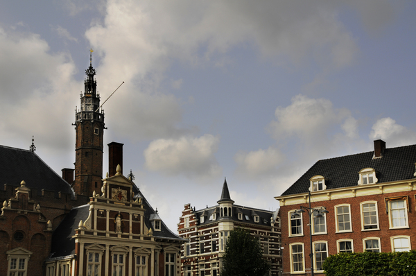 Dutch city: the Dutch city of Haarlem, near Amsterdam