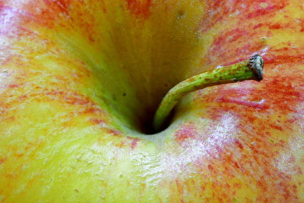 Apple close up macro photo: Apple close up macro photo made unsing Nikkor 105mm Nicro lens with VR. Ready to be used in the fruit websites or wall art presentation printers and print cards or leaflets or mugs