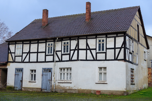 old half-timbered house 2: old half-timbered house
