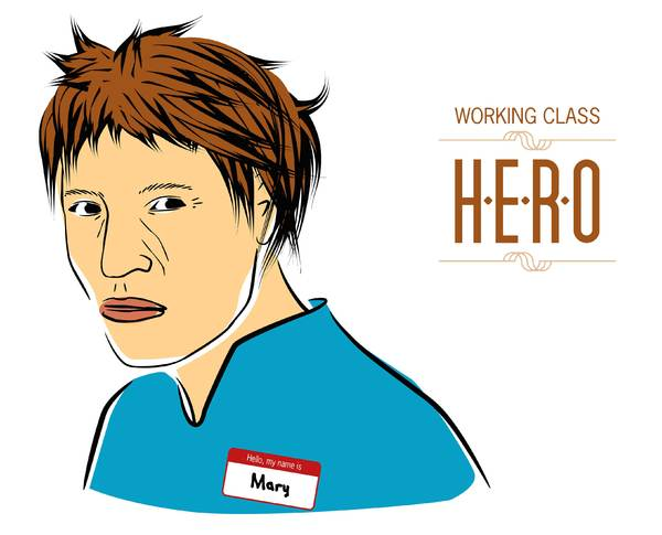 Working class hero: Yes! Another one from my archives. Have fun!