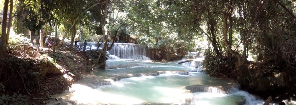 waterfall: Waterfall in Luang Prabang