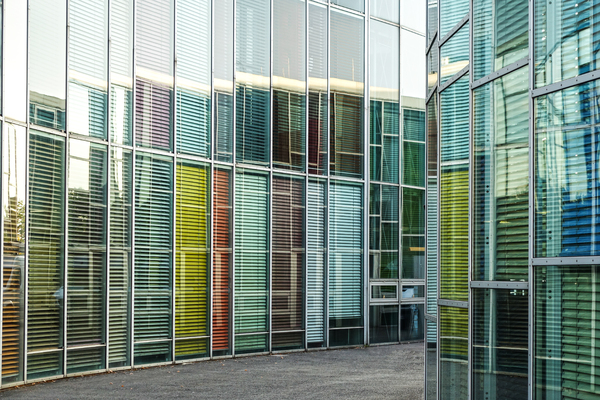 colourful blinds architecture: colourful blinds architecture 3