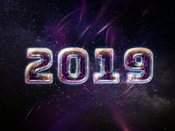 2019 New Year: 2019 New Year