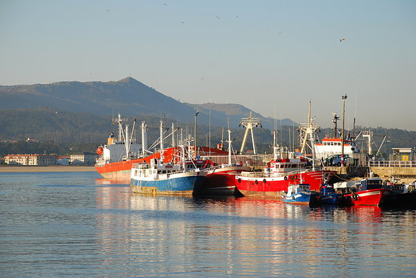 Fishing port: fishing port
