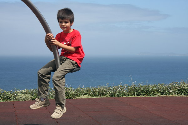 Kid in the swing: Kid in the swing
