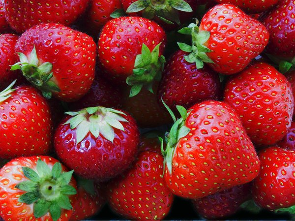 strawberries: strawberries
