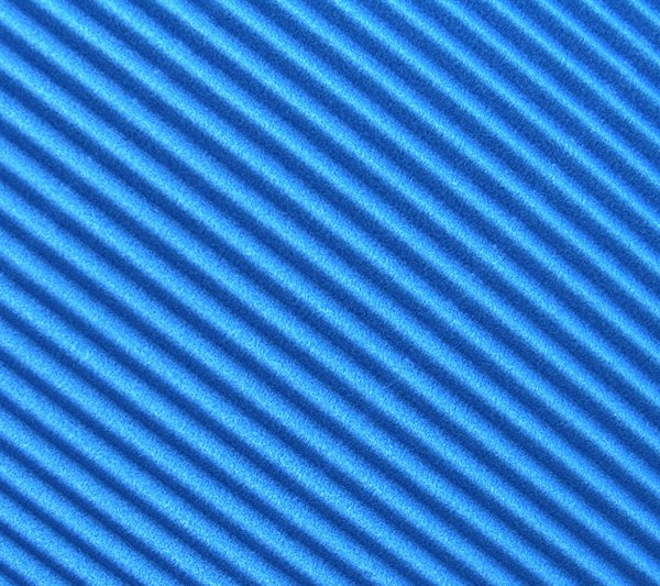 blue cardboard: a common cardboard, only slightly brightened in Photoshop