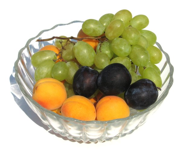 fruit bowl: none