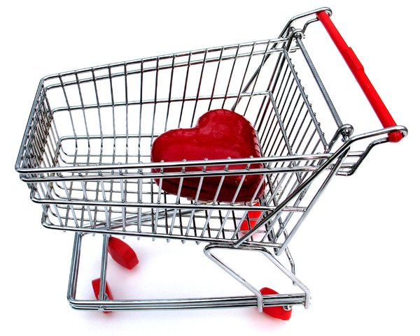 love shopping: none