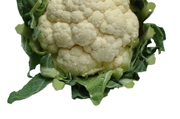 Cauliflower serie # 1: A fresh cauliflower, grab it , cook it and have a nice meal ...