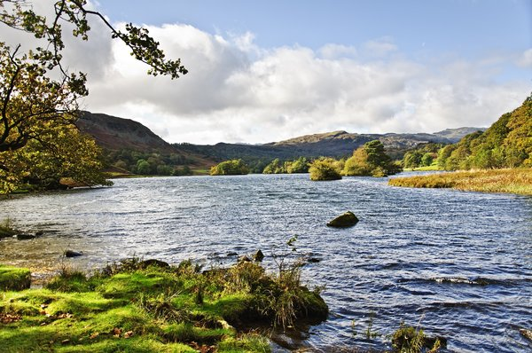 Rydal Water: shot on a trip to Grassmere in the autumn