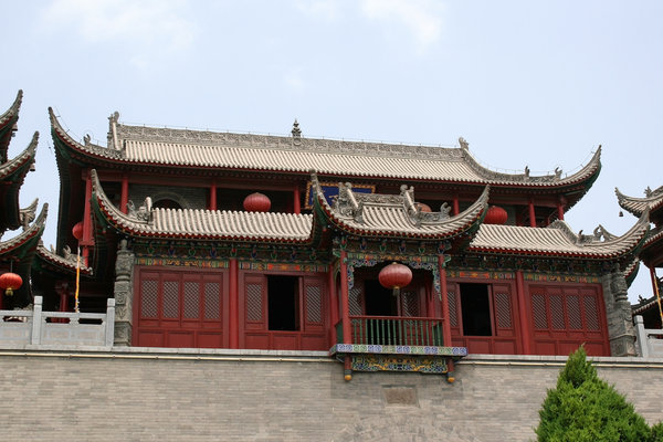 Ornamental house: An ornamental house in Tianjin, China.