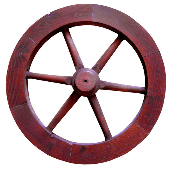 Steering wheel: A steering wheel. It was used on a small ship. Yeah, it looks like a normal wheel of a cart, but it REALLY was a steering wheel. Wooden.Please mail me or comment this photo if you liked it or used. Just to let me know. Thanks!I would be happy to receive t