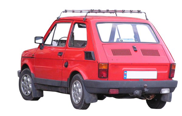 Old car: This is FIAT 126P, a killer of Polish roads back in the eighties.Please mail me if you found it useful. Just to let me know!I would be extremely happy to see the final work even if you think it is nothing special! For me it is (and for my portfolio)!