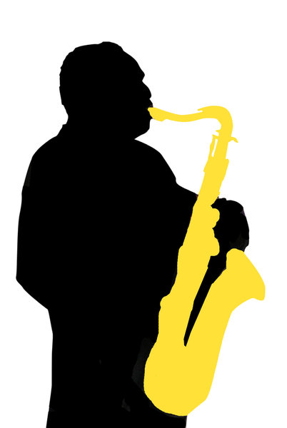 Sax player: A person with a saxophone!Please comment this shot or mail me if you found it useful. Just to let me know!I would be extremely happy to see the final work even if you think it is nothing special! For me it is (and for my portfolio).