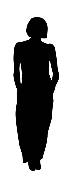 Girl silhouette: A girl in black and white.Please comment this shot or mail me if you found it useful. Just to let me know!I would be extremely happy to see the final work even if you think it is nothing special! For me it is (and for my portfolio).