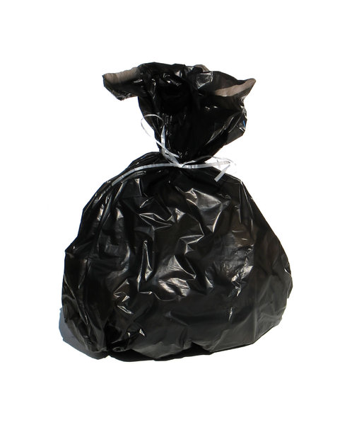 garbage bag: none