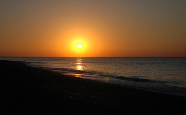 Sunrise: Sunrise on the beach