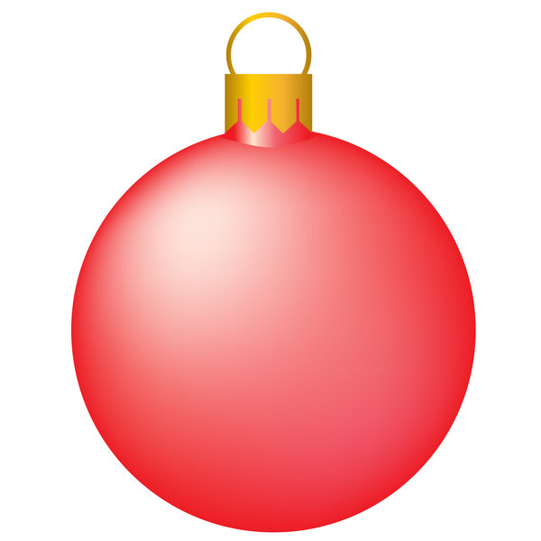 Christmas Tree Bauble 2:  Isolated bauble on a white background.