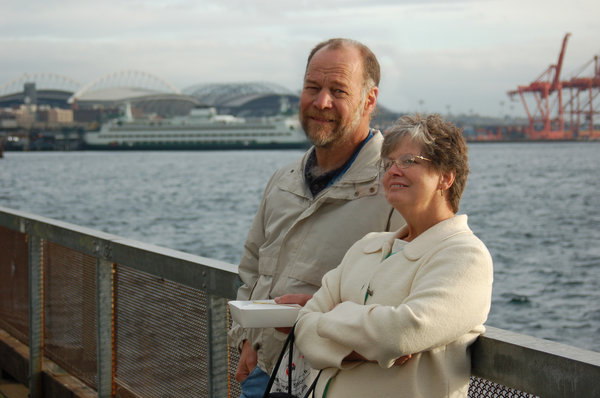 Married couple 3: A selection of photos of my parents taken in and around Seattle Washington.