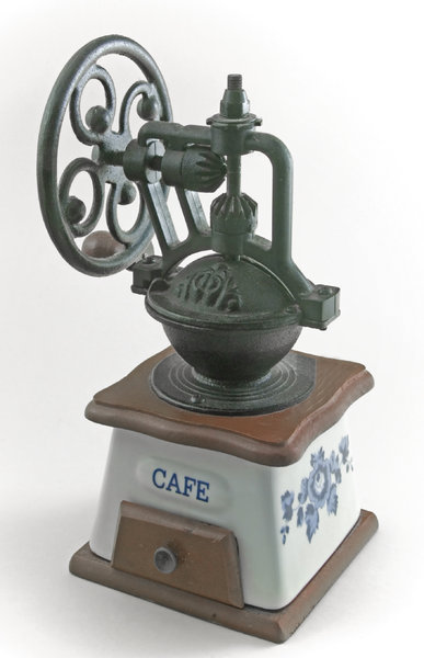 Old coffee grinder: Old coffee-mill