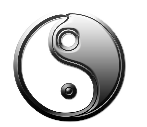 Yin Yang symbol 1: Chinese sign of balance