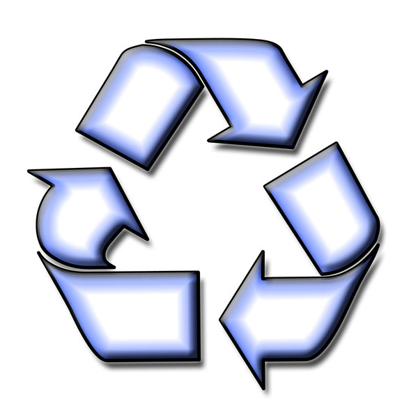 Recycling pictogram 4: Sign of ecological action