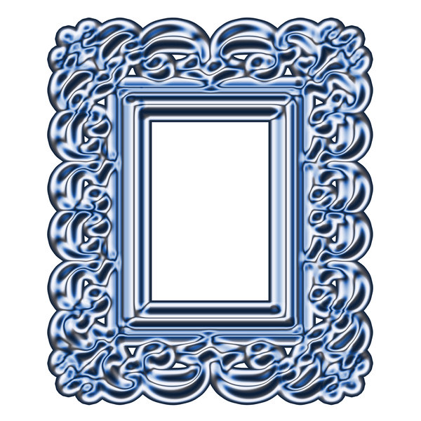 Baroque frame 2: Stylised picture frame