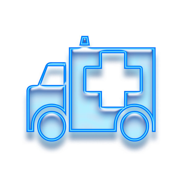 Emergency pictogram 5: Ambulance icon