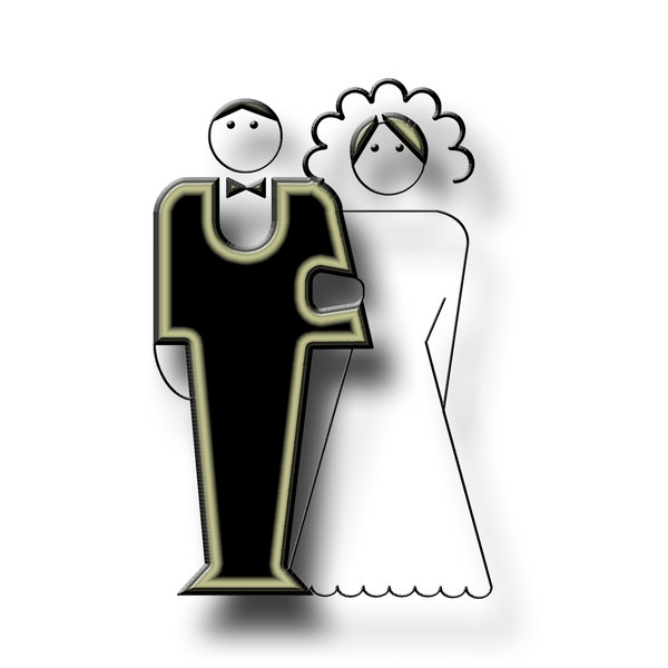 newly-weds pictogram 4: Wedding icon