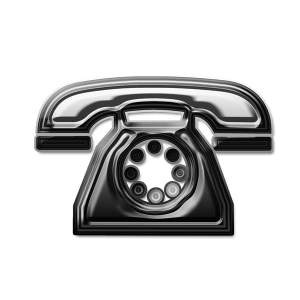 Telephone icon 7: Phone pictogram