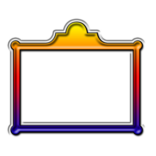 Rectangle picture frame 3: Rectangle for painting or photo
