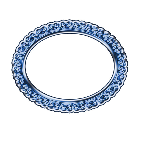 Horizontal oval frame 2