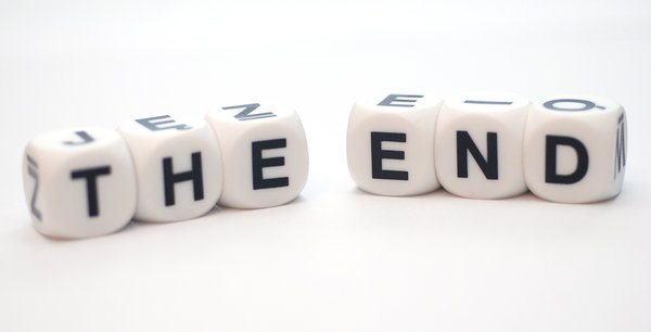 The end 1: Words on the dices