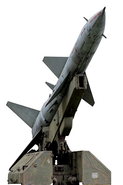 Old soviet missile 1: Miisile on the launcher