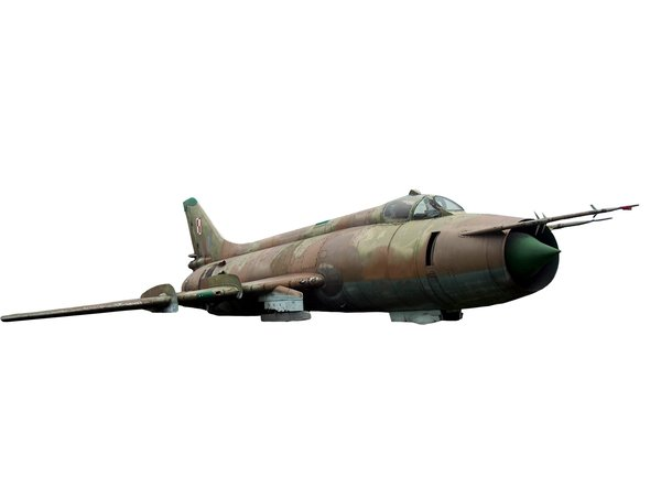 Old russian jet fighter  from : Soviet fighter plane MiG