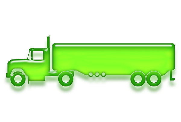 Big truck pictogram 5: 8 wheels truck