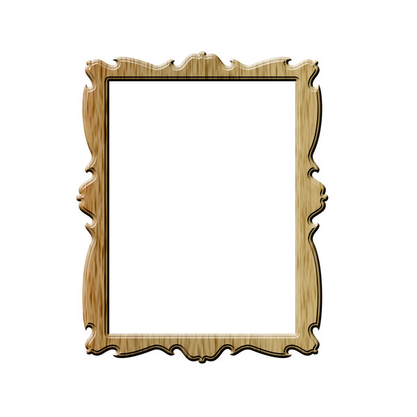 Vertical rectangle picture fra: Frame for pictures or paintings