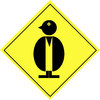Warning sign - animal  5