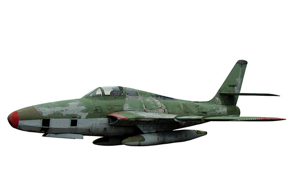 Aircraft from German airforces: American fighter jet