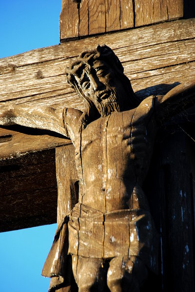 Jesus Christ 1: XIX century cross in Poland